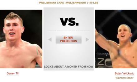 Bojan Veličković dobio neporaženog protivnika u UFC-u, bori se za malo više od mesec dana?
