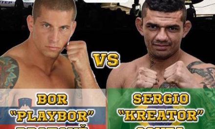 Bor Bratovž protiv Sergia Souze na CFC4!