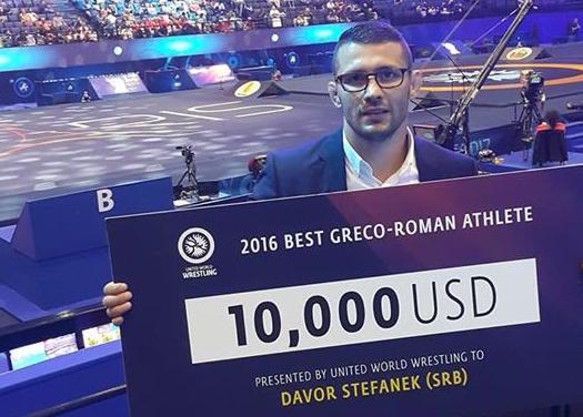 Davor Štefanek proglašen za najboljeg rvača sveta 2016 godine!