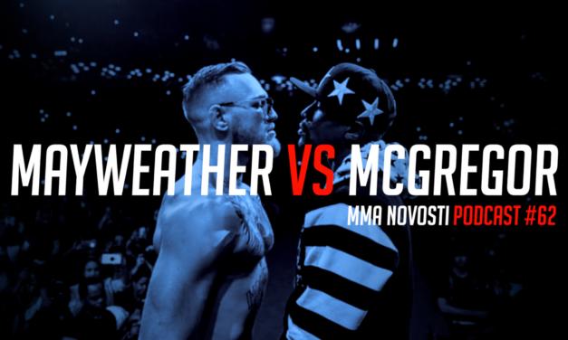 MMANovosti- Podcast #62- Luka Jelčić i Zlatko Ostrogonac – Mayweather vs. McGregor