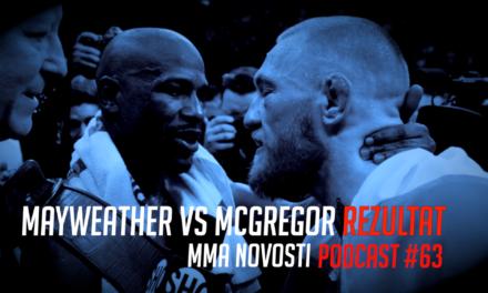 MMANovosti- Podcast #63- Mayweather vs. McGregor nakon borbe!