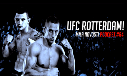 "MMANovosti- Podcast #64- Goran Babić i Zlatko Ostrogonac- ""May vs. Mac"", UFC Rotterdam!"