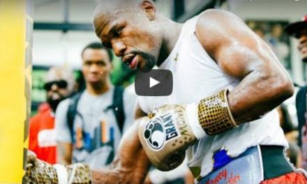 Otvoreni trening sa Floydom Mayweatherom! (VIDEO)
