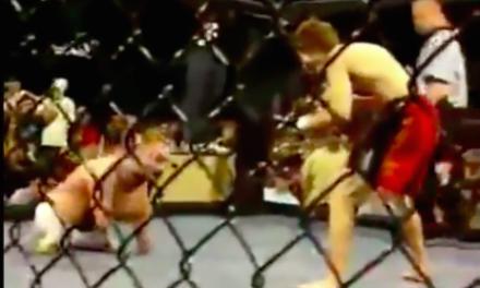 Pogledajte MMA borbu između MMA borca i čoveka bez nogu i ruku! (VIDEO)