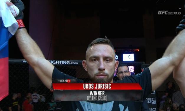Pogledajte prekid Uroša Jurišića sa jučerašnje borbe! (VIDEO)