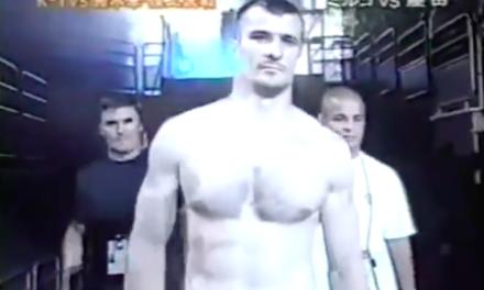 Mirko Filipović odradio svoju prvu profesionalnu MMA borbu pre 16 godina! (VIDEO)