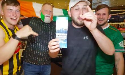 Irski fanovi preuzeli Las Vegas! (VIDEO)