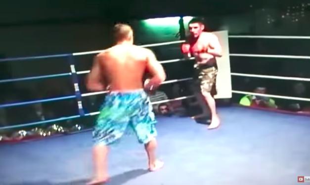 Pogledajte prvu profesionalnu borbu Conora McGregora, gde se borio u kupaćem šorcu!