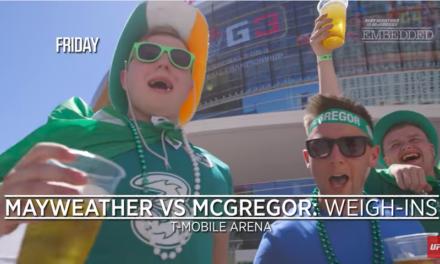 Conor McGregor vs Floyd Mayweather Embedded- šesti deo (VIDEO)