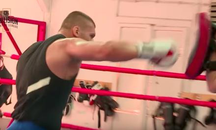 Pogledajte kako se Darko Stošić priprema za svoju borbu u Beogradu! (VIDEO)