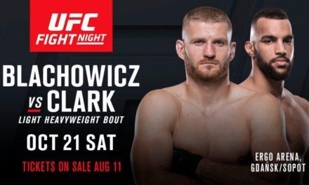 Jan Blachowicz protiv Devina Clarka u Poljskoj!