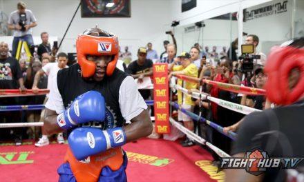 Floyd Mayweather nije sparingovao mesec dana pre borbe!
