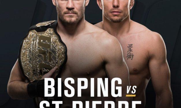 Borba između Michael Bispinga i Georges St-Pierra je dobila datum i mesto!
