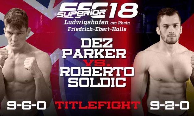 Ne propustite! Roberto Soldić protiv Dez Parkera ovog vikenda!