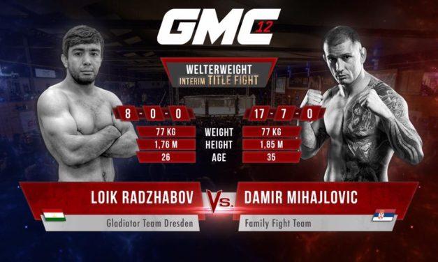 Damir Mihajlović dobio drugog protivinka za GMC12!