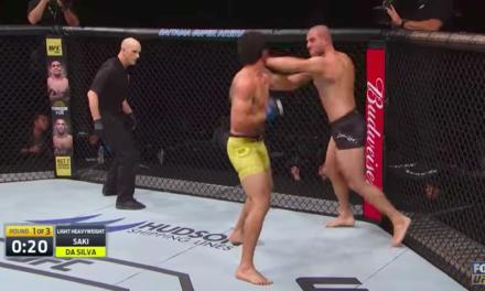 Pogledajte brutalan nokaut Gökhana Sakia u njegovom UFC debiju! (VIDEO)