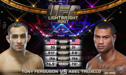 Besplatna borba: Tony Ferguson vs. Abel Trujillo (VIDEO)