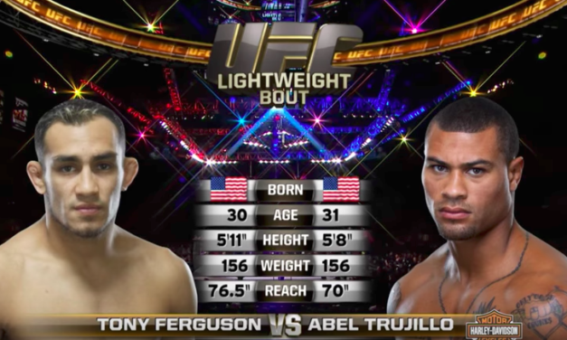 Besplatna borba: Tony Ferguson vs. Abel Trujillo (VIDEO)