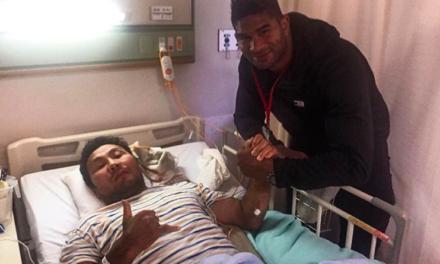 """Overeem posetio svog bivšeg protivnika iz """"PRIDE FC-a"""" u bolnici dok je bio u Japanu!"""