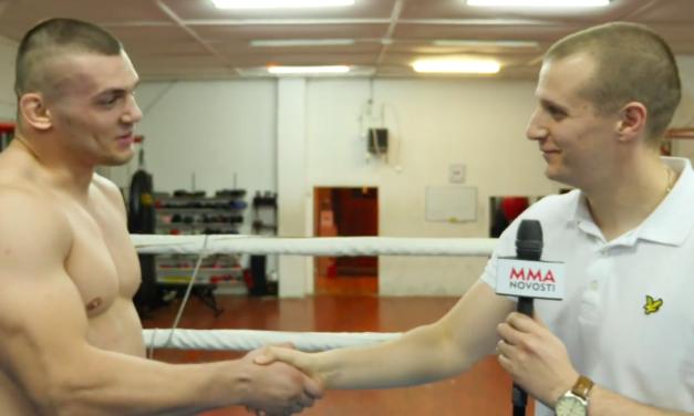 Intervju sa Darkom Stošićem povodom borbe na CFL-u… (VIDEO)