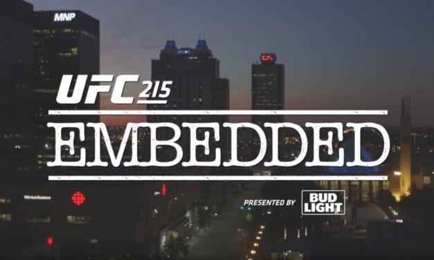 Embedded za UFC 215- peta epizoda!