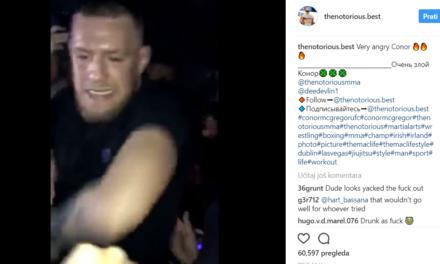 """""""Razuzdani"""" Conor McGregor: alkohol ili nešto jače?"""