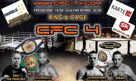 Najava i spisak borbi za CFC4! (VIDEO)