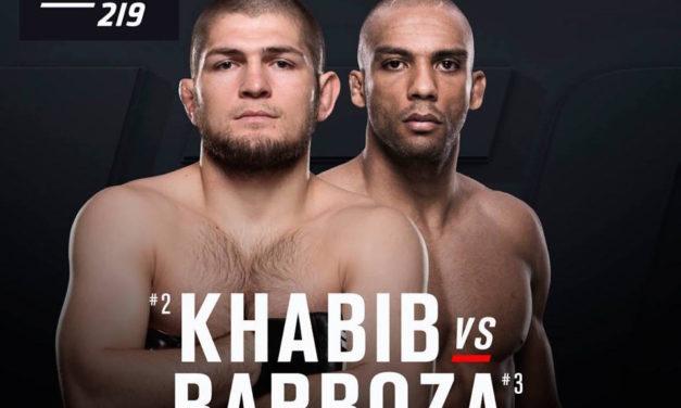 UFC potvrdio Edson Barboza protiv Khabiba Nurmagomedova na UFC219!