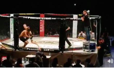 Stefan Zvijer nokautirao Aleksandra Stojičića, pogledajte prekid! (VIDEO)