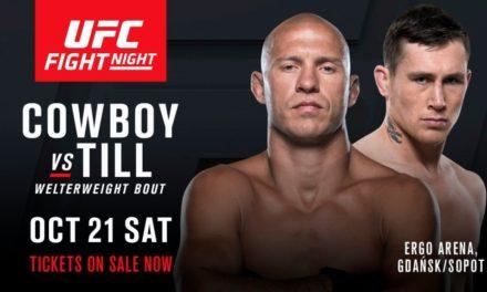 """Gledajte merenje za publiku """"UFC Fight Night 118- Gdansk"""" sa početkom u 20h! (VIDEO)"""
