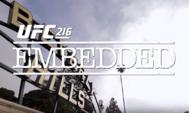 UFC 216 Embedded-treći deo (VIDEO)