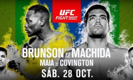 Lyoto Machida nokautiran, Covington slavio protiv Maia-e!