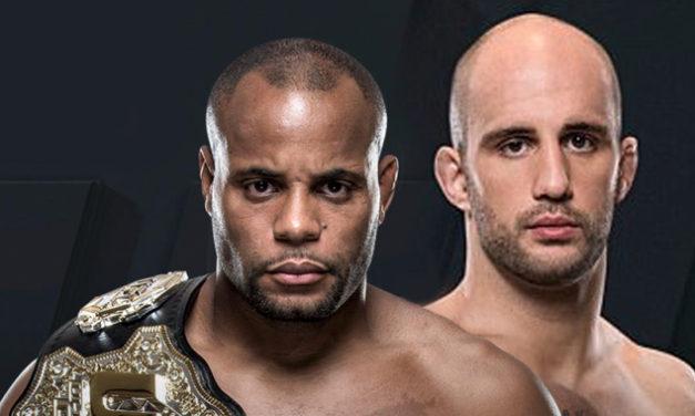 Daniel Cormier vs. Volkan Oezdemir na UFC 220