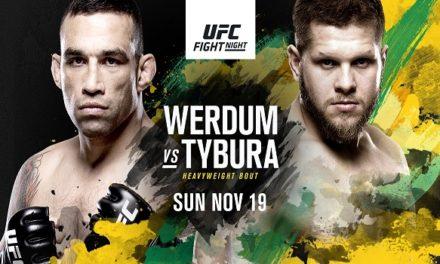 UFC Fight Night: Werdum vs. Tybura, Bojan Veličković vs Jake Matthews