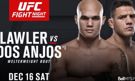 Pogledajte kako izgleda spektakularni UFC on FOX 26: Lawler vs. dos Anjos fight card