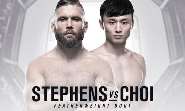 "UFC Fight Night 124: Potvrđena borba između Jeremy Stephensa i ""The Korean Superboya"""