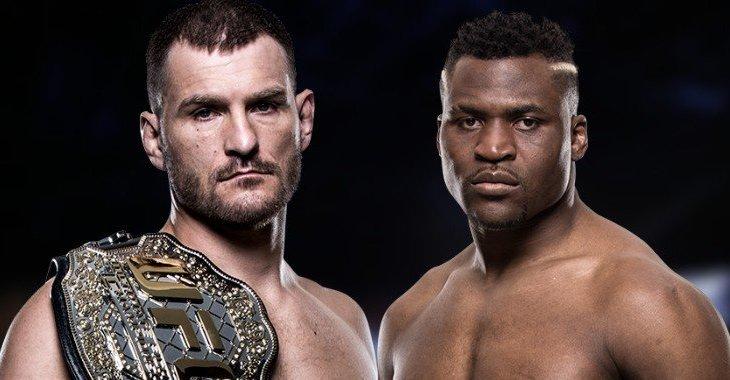UFC 220: Miočić vs Ngannou
