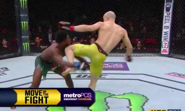 UFC Fight Night 123: Moraes brutalnim nokautom pobijedio Sterlinga, Swanson tapkao na giljotinu