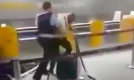 Bivši MMA borac pretukao dvoje nemačkih policajaca na aeodromu u Frankfurtu… (VIDEO)