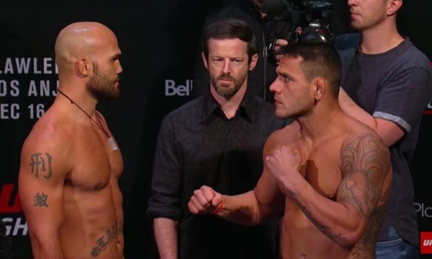 Merenje za UFC Fight Night Winnipeg! (VIDEO)