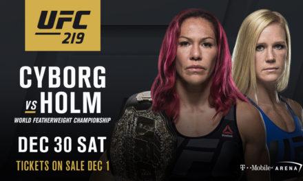 UFC 219 Countdown (VIDEO)