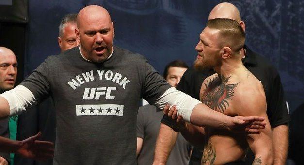 """Dana White poslao poruku svim """"hejterima"""" McGregora: Kako možete da kažete da nikada nije branio titulu?"""