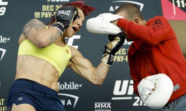 Otvoreni trening za UFC219! (VIDEO)