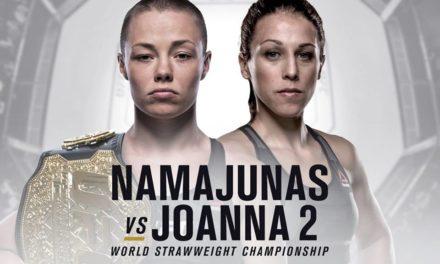 "ZVANIČNO!  ""Rose Namajunas vs. Joanna Jedrzejczyk 2"" na UFC223!"