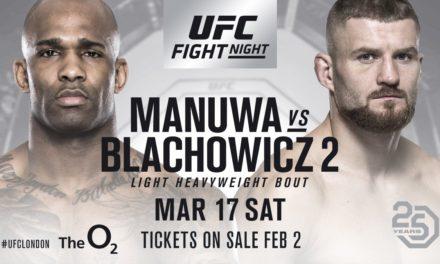 Jimi Manuwa protiv Jan Blachowicza u Londonu!