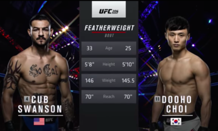 UFC nas časti sa jednom od najboljih borbi 2016 godine! (VIDEO)