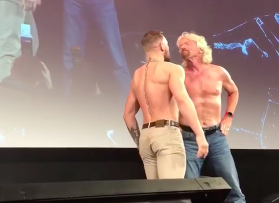Suočavanje mulitimilionera Richard Branson i Conora McGregora! (VIDEO)