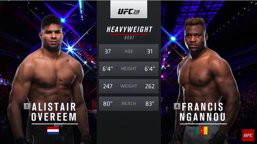 "UFC nas časti borbom ""Ngannou vs. Overeem"" (VIDEO)"