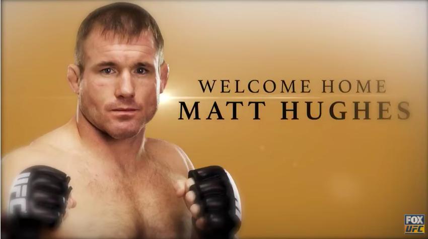 Emotivni trenuci na sinoćnjem UFC-u kada se pojavio Matt Hughes!