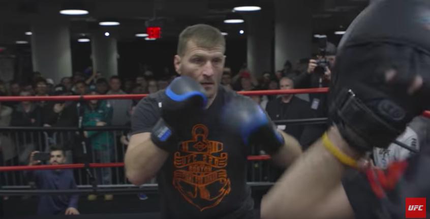 Otvoreni trening za UFC220! (VIDEO)